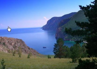 Transsibirische Eisenbahn Baikalsee